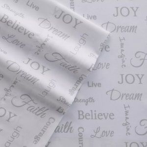 Grand Collection Microfiber Inspirational Sheets